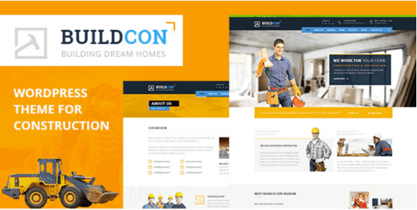 Buildcon – Construction And Renovation WordPress Theme