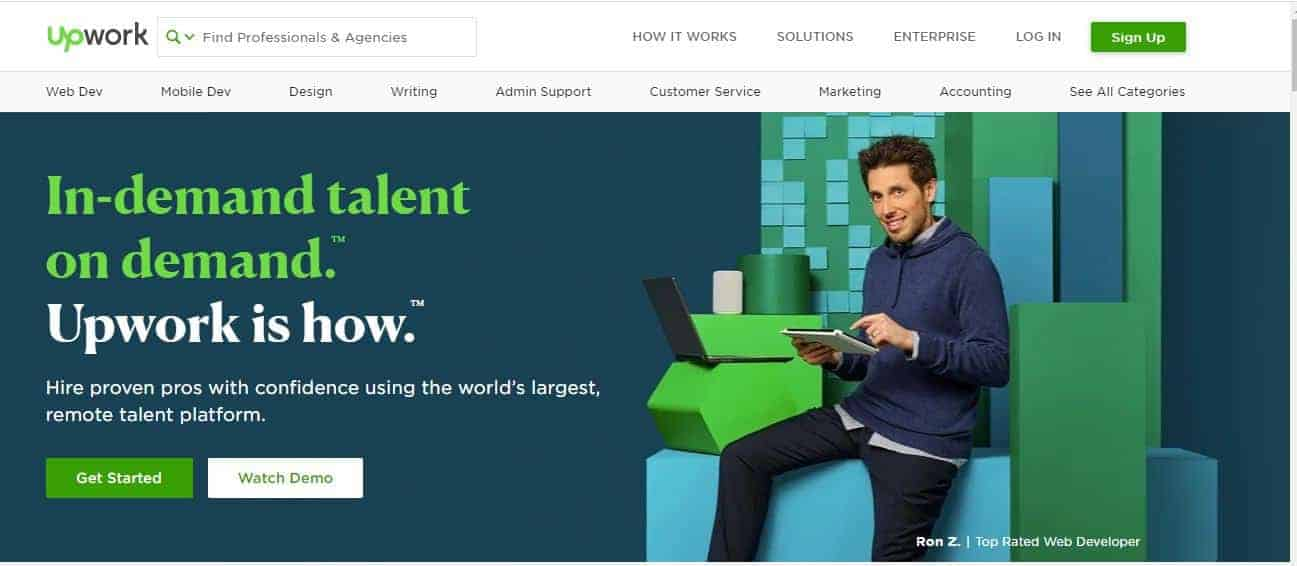 Top Reliable Third Party Outsourcing Platform Where Most Online Freelancers Get Hired