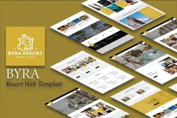 templates for hotel