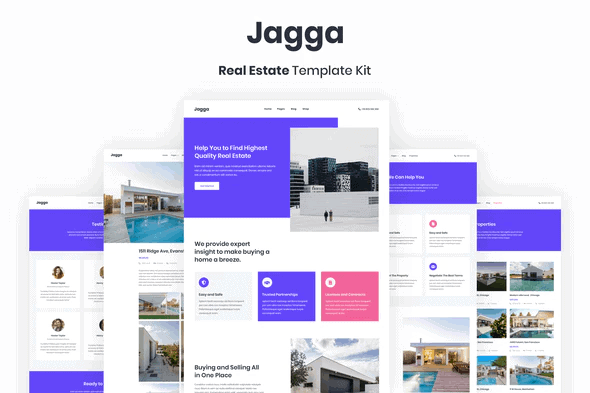 Jagga – Real Estate Template Kit