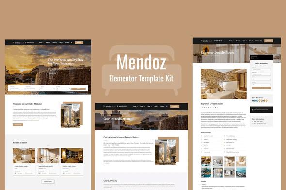 Mendoz - Hotel & Travel Template Kit