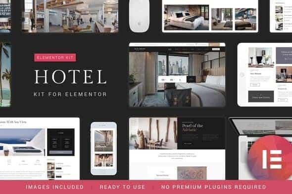 Nicdark Hotel Booking - Template Kit