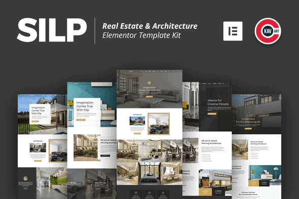 Silp - Real Estate & Architecture Template Kit