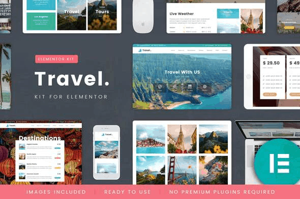 TravelTour - Travel & Booking Template Kit