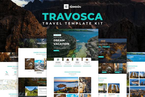 Travosca - Travel Elementor Template Kit