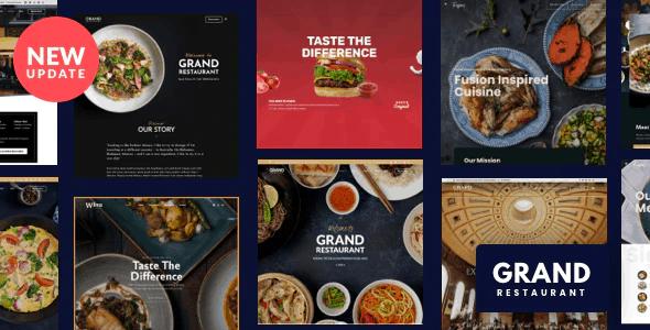 Grand Restaurant WordPress