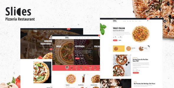 Slices - Pizza Restaurant WordPress Theme