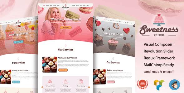 Sweetness - One Page WordPress Theme