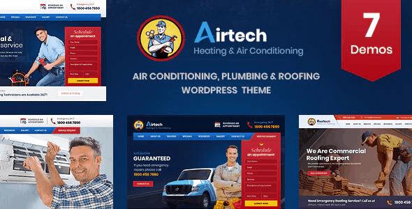 Airtech - Plumber HVAC and Repair theme